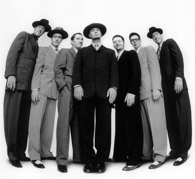 Big Bad Voodoo Daddy Christmas