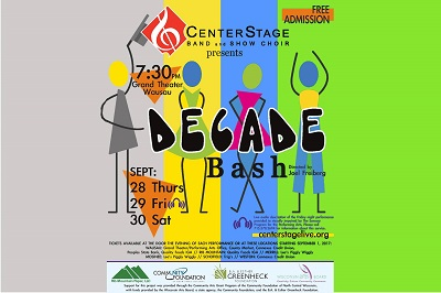 CenterStage Band and Show Choir<br/>Decade Bash